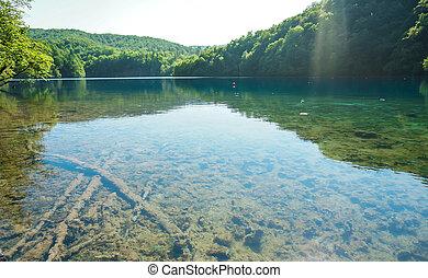 plitvice, 호수