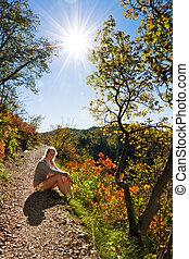 Plitvice autumn sunshine