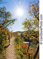 Plitvice autumn trail