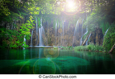 plitvice, cachoeiras