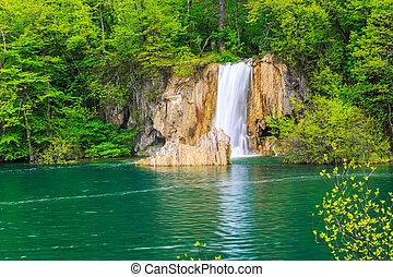 plitvice, chutes d'eau