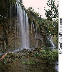 Plitvice Lake falls