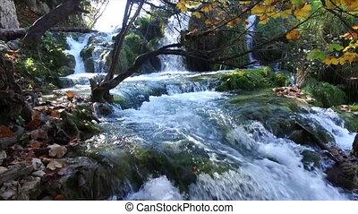 Plitvice Lakes National Park. Croatia