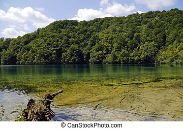 Plitvice Lakes National Park in Croatia