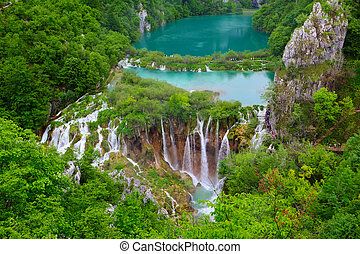 plitvice, lakes, nationalparken