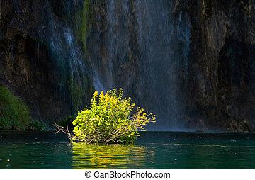 plitvice, nemzeti park, horvátország