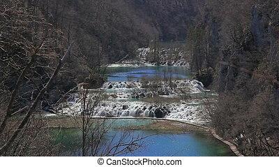plitvice, parc national, lacs, croatia.