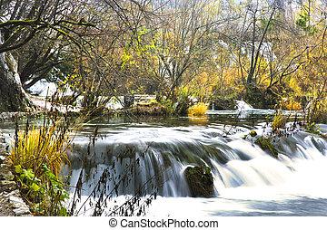 plitvice, parc national, lacs