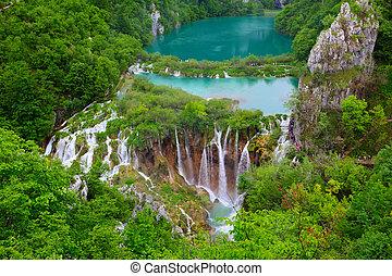 plitvice, parco nazionale, laghi