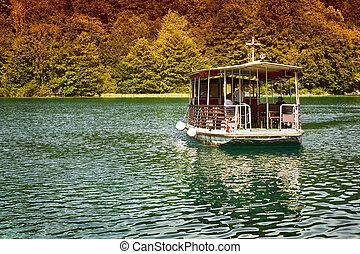 plitvice, park, national, kroatien