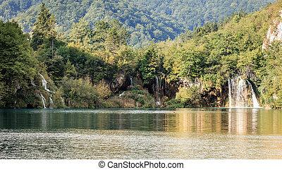 plitvice, seen, nationalpark
