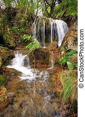 Plitvice stream