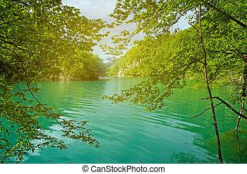 plitvice, tó
