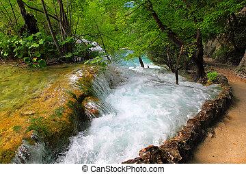 plitvice, tavak, nemzeti park