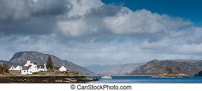 Plockton and Loch Carron, Scotland