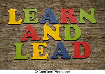 plomb, apprendre
