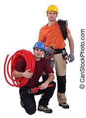 plombier, électricien