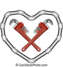 plombiers, valentin
