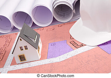 Plot of new house