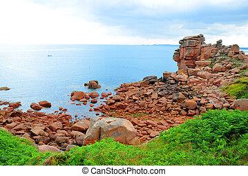 Ploumanach, Pink Granite Coast in Brittany