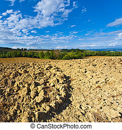 Plowed Fields in the Autumn