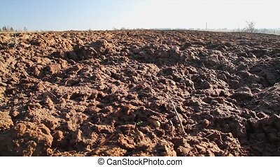 plowed land, slider