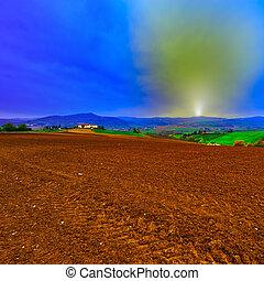 Tuscany at Sunset