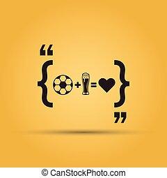 plud, amore, football, marchio, birra, quotazione