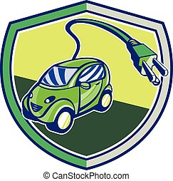 Plug-in Hybrid Electric Vehicle Retro Shield