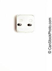Plug isolated on white background