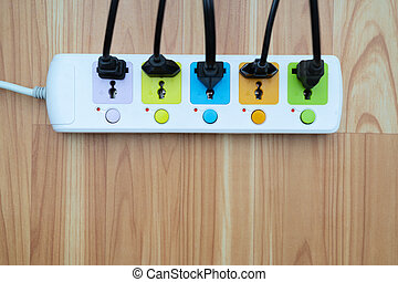 Electricity usage concept
