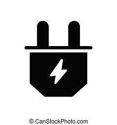 plugin glyph flat icon
