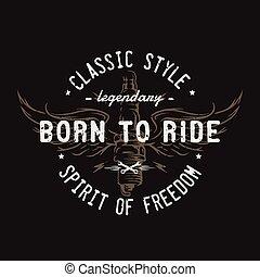 plugue, asas, freedom., espírito