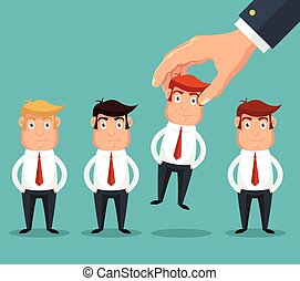 pluk, best, kandidaat, hand