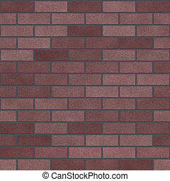 Plum Colored Clay Bricks Seamless Texture