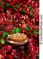 plum ricotta crumble cake. style rustic - plum ricotta ...