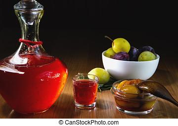 Plum tincture alcohol
