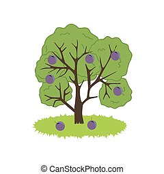 Plum Tree Icon