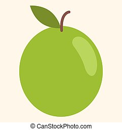 Plum Vector Illustration