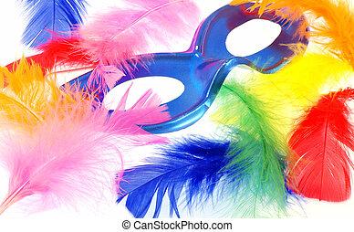 pluma, carnaval