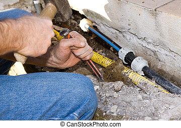 plumber and mason