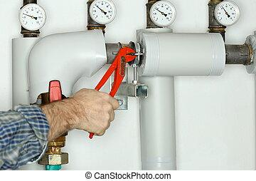 fixing a valve