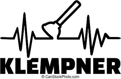 Plumber plunger heartbeat line german