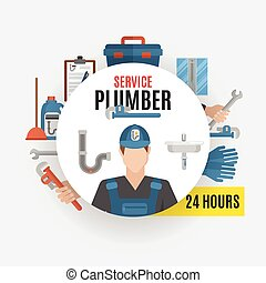 Plumber Service Design Concept