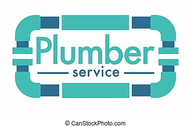 Plumber service isolated icon, house plumbing repairing works