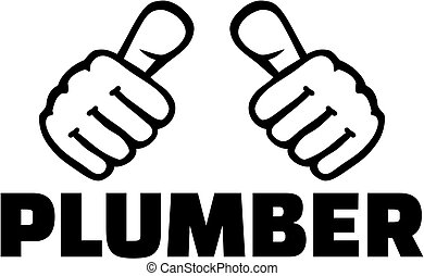 Plumber with thumbs