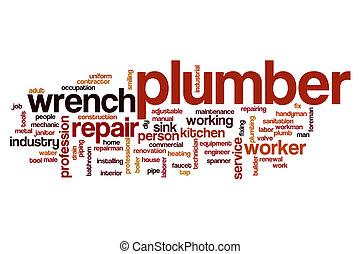 Plumber word cloud