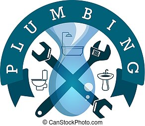 Plumbing and water supply symbol