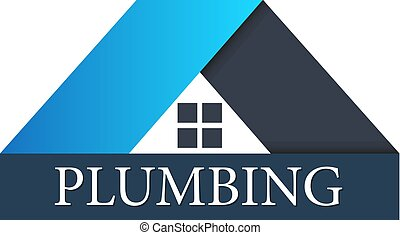 Plumbing for home sign