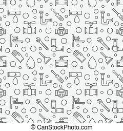 Plumbing minimal pattern